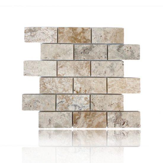Mosaico Albertino Cepillado 2″x 4″