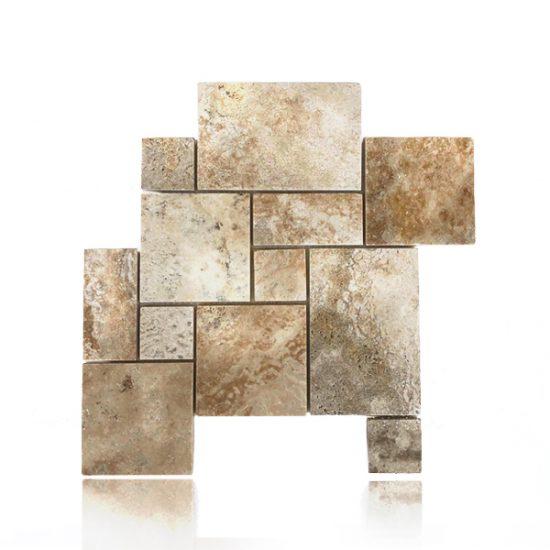 Mosaico Mini Patrón Romano